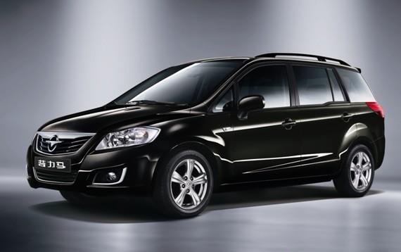 海马普力马2013款延续产品优势 树立 8万元7座商务用车 典高清图片