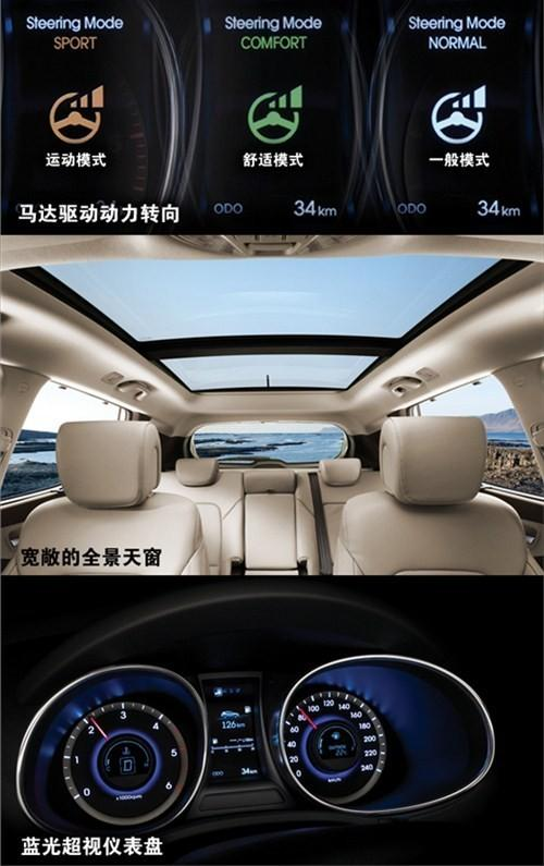 V6引擎 进口现代SUV全新胜达28.8万高清图片