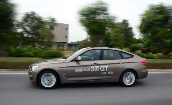 全能运动健将 动态评测宝马3系gt320i