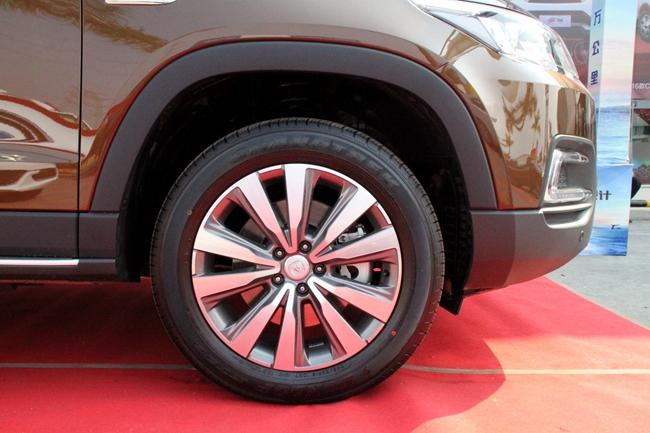配置最强七座SUV 长安CS95新车实拍高清图片